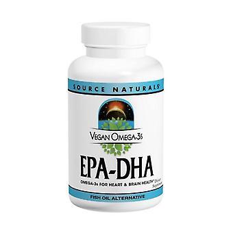 Source Naturals Omega-3 Vegan EPA-DHA, 350 mg, 60 sgels