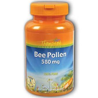 Thompson Bee Pollen, 580 MG, 100 Tabs