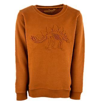 Stones And Bones Boys Sweater Impress Embossed Dino