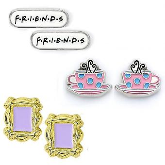 Friends Stud Earring Set