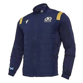 2020-2021 Scotland Padded Anthem Jacket (Navy)