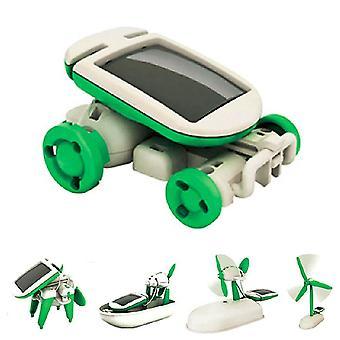 الطاقة الشمسية لعبة لعبة Diy التعليمية التدريس روبوت سيارة قارب الكلب مروحة طائرة جرو