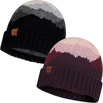 Buff Unisex Sveta Fine Knit Fleece Lined Warm Winter Bobble Beanie Hat