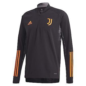 2020-2021 Juventus EU Training Top (fekete)