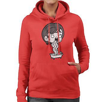 Psycho Marion Crane Kawaii Shower Scene Women's Hooded Sweatshirt