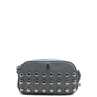 Aniye di Ezbc098027 Women's Light Blue Leather Shoulder Bag