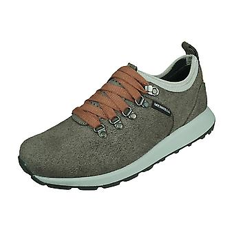 Merrell Ashford Classic Mens Suede Trainers / Zapatos - Carbón