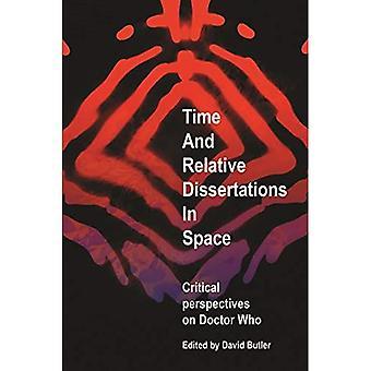 Tempo e Relative tesi nello spazio: prospettive critiche su Doctor Who