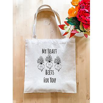 My Heart Beets For You-tote Bag