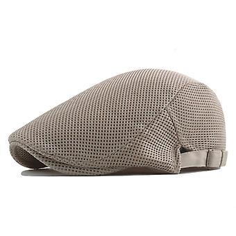Mode Baskenmütze Golf Mütze, Frauen & Männer Outdoor Sweat absorbieren verstellbare Mesh