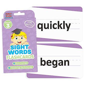 Näky sanat Flashcards, kolmas luokka