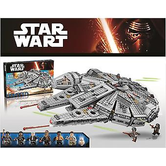 Compatible Lepining  Star Wars - Falcon Spacecraft Building Blocks Toy