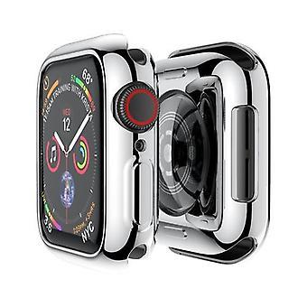 Omslag för Tillbehör till Apple Watch-fodral mjuk all-around Tpu bumperskärm
