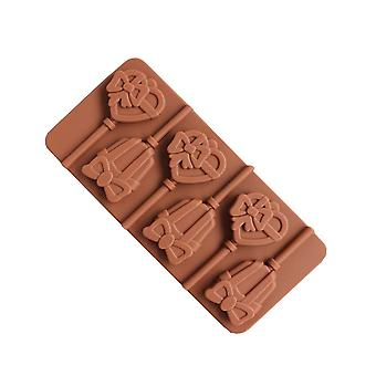 Brown TRP Candy, Cake, Chocolate, Cookies Molds Kitchen Tools for Children