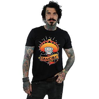 Rick ja Morty miesten Sanchez Tequila T-paita