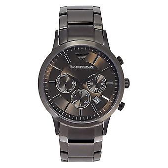 Armani Ar2454 Gents Grey Stainless Steel Watch