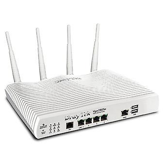 Draytek vigor 2862ac triple-wan vdsl/adsl 802.11ac 5ghz wireless router firewall with 3g/4g lte supp