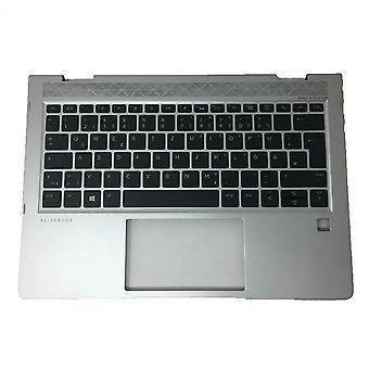 Replacement Keyboard for HP EliteBook 830 G5/6 Palmrest QWERTZ/German L56442-FL1