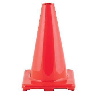 """Cono de vinilo flexible de alta visibilidad, ponderado, 12"""",Orange"""