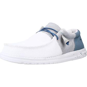 Hey Dude Loafers 102635 Colore Whtgrey