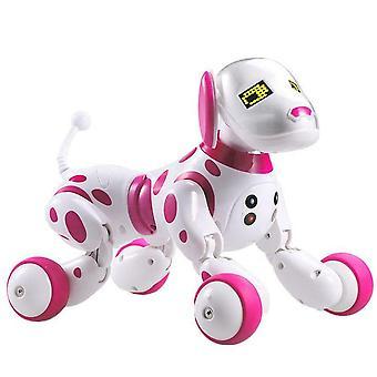 لطيف الحيوانات الالكترونية لعبة تفاعلية الروبوت الكلب اللاسلكية التحكم عن بعد الذكية