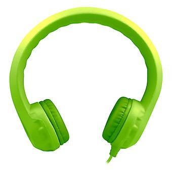 Casque en mousse indestructible Flex-Phones, vert
