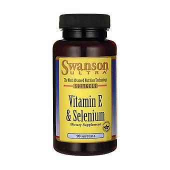 Vitamin E & Selenium 90 softgels