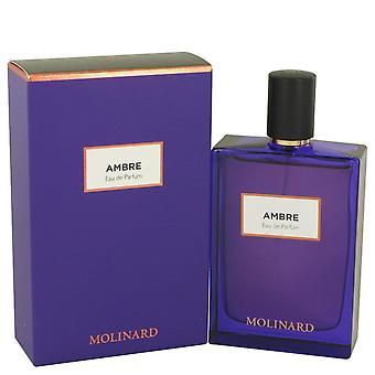 Molinard Ambre Eau De Parfum Spray By Molinard 2.5 oz Eau De Parfum Spray