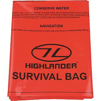 Highlander akuta överlevnad vattentät Bivi Bag / improviserade skydd