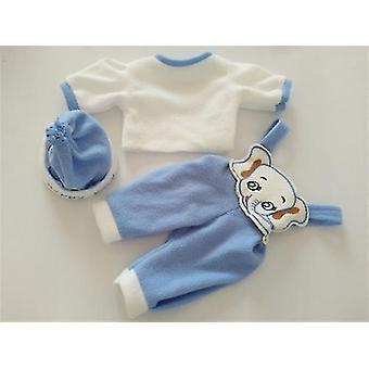 4 Style Doll Elephant Tøj Sæt Suit For 22 Tommer Nyfødte Baby Doll