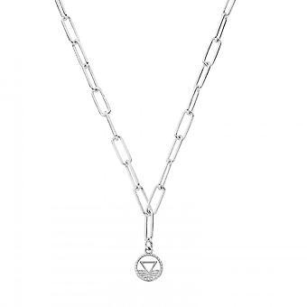 ChloBo Sterling Silber Link Kette Wasser Halskette SNLC3114