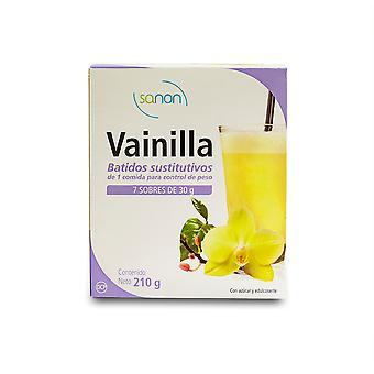 Sanon Batido Sustitutivo Vainilla 7 Sobres 30 gr
