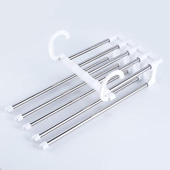 Stainless Steel Clothes Hangers Multi-functional Wardrobe