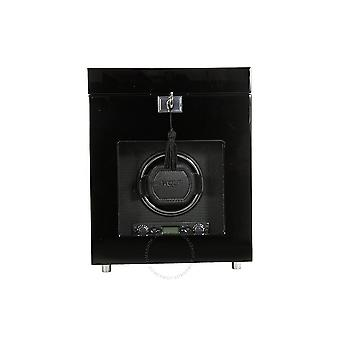 Wolf Savoy Single Watch Winder - Black 454570