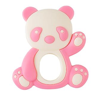 Soft Cartoon Panda Silicone Molar Stick - Teether For Toddlers
