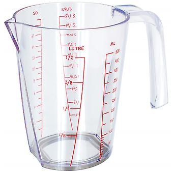 messbecher 500 ml 14 x 10 x 13 cm transparent