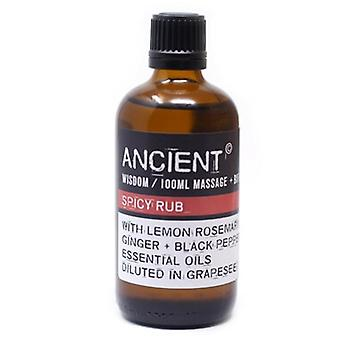 Spicy Rub Essential Oils Blend Massage & Bath Oil 100ml