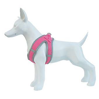 Freedog arnês macio rosa (cães, coleiras, pistas e arreios, chicotes de fios)