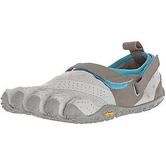 Vibram V-Aqua Ladies Water Sports Outdoor Five Fingers Grip Shoes - Light Grey/Blue