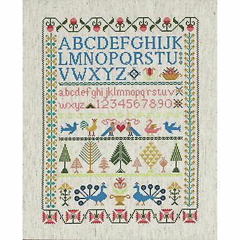 Anchor Cross Stitch Kit: Viktoriansk sampler