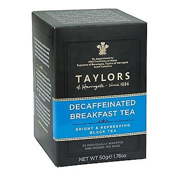 Taylors of Harrogate Decaffeinated Breakfast Tea Bags