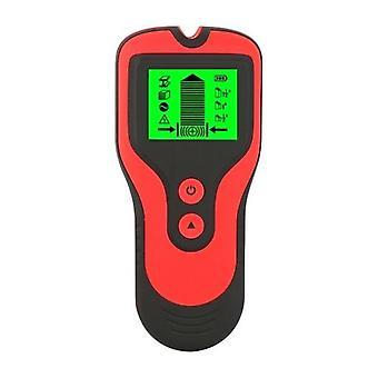 Schermo LCD Schermo 3 in 1 Metal Detector Stud Sensors Scanner AC Voltage Live Wire Detector Strumento di utilità multifunzione