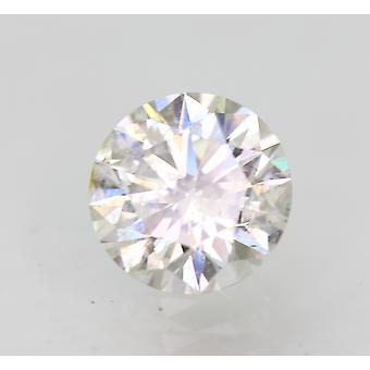 Sertifioitu 0,71 karat F SI2 pyöreä brilliant parannettu luonnollinen löysä timantti 5,75mm