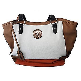Rieker H1039, Women's Evening Bag, Combi White, 360x100x260