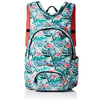 MorikukkoMorikukko Hooded Backpack Basic FlamingoUnisex - AdultZainiMulticolore (Basic Flamingo)33x8x40 Centimeters (W x H x L)