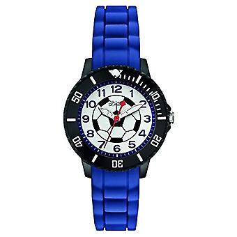S.Oliver SO-2589-PQ Wristwatch, Boy, Silicone, Blue