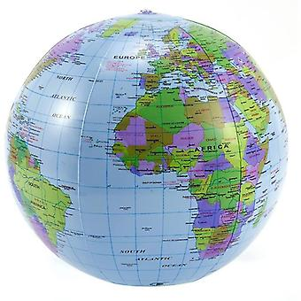 Inflatable Globe, Education Geography Toy Map, Balloon Beach Ball, Develop