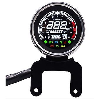 Compteur de vitesse polyvalent pour moto, tachymètre à écran LCD