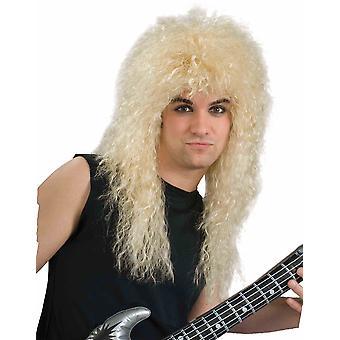 δεκαετία του 1980 ροκ Star βαρύ μέταλλο μπάντα ξανθιά άνδρες μεταμφιέσεων περούκα