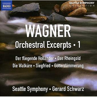 R. Wagner - Wagner: Orchestral Excerpts, Vol. 1 [CD] USA import